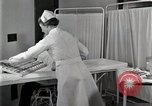 Image of Protein allergy test Detroit Michigan Henry Ford Hospital USA, 1936, second 57 stock footage video 65675023149