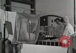 Image of baby in oxygen tent Detroit Michigan USA, 1936, second 7 stock footage video 65675023151
