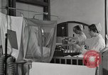 Image of baby in oxygen tent Detroit Michigan USA, 1936, second 9 stock footage video 65675023151