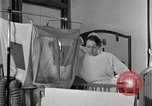 Image of baby in oxygen tent Detroit Michigan USA, 1936, second 16 stock footage video 65675023151