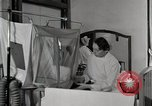 Image of baby in oxygen tent Detroit Michigan USA, 1936, second 18 stock footage video 65675023151