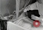 Image of baby in oxygen tent Detroit Michigan USA, 1936, second 39 stock footage video 65675023151