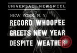 Image of New Year celebrations New York City USA, 1938, second 6 stock footage video 65675023165