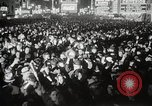 Image of New Year celebrations New York City USA, 1938, second 34 stock footage video 65675023165