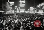 Image of New Year celebrations New York City USA, 1938, second 37 stock footage video 65675023165