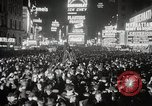 Image of New Year celebrations New York City USA, 1938, second 39 stock footage video 65675023165