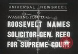 Image of Stanley Reed Washington DC USA, 1938, second 1 stock footage video 65675023166