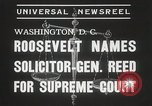 Image of Stanley Reed Washington DC USA, 1938, second 5 stock footage video 65675023166