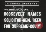Image of Stanley Reed Washington DC USA, 1938, second 7 stock footage video 65675023166
