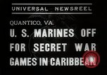 Image of United States Marines Quantico Virginia USA, 1938, second 2 stock footage video 65675023167