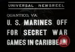 Image of United States Marines Quantico Virginia USA, 1938, second 3 stock footage video 65675023167