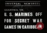 Image of United States Marines Quantico Virginia USA, 1938, second 5 stock footage video 65675023167