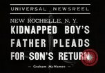 Image of Peter Levine kidnapped New Rochelle New York USA, 1938, second 5 stock footage video 65675023169