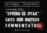Image of Spring time London England United Kingdom, 1938, second 3 stock footage video 65675023175