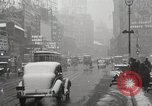 Image of Snow in Manhattan New York United States USA, 1938, second 31 stock footage video 65675023176