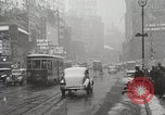 Image of Snow in Manhattan New York United States USA, 1938, second 32 stock footage video 65675023176
