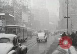 Image of Snow in Manhattan New York United States USA, 1938, second 33 stock footage video 65675023176