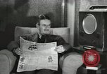 Image of London citizens at election time London England United Kingdom, 1950, second 22 stock footage video 65675023187