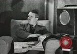 Image of London citizens at election time London England United Kingdom, 1950, second 30 stock footage video 65675023187