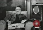 Image of London citizens at election time London England United Kingdom, 1950, second 34 stock footage video 65675023187