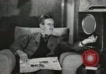 Image of London citizens at election time London England United Kingdom, 1950, second 38 stock footage video 65675023187