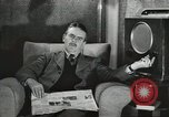 Image of London citizens at election time London England United Kingdom, 1950, second 46 stock footage video 65675023187