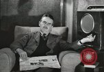 Image of London citizens at election time London England United Kingdom, 1950, second 47 stock footage video 65675023187