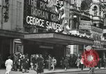 Image of London citizens at election time London England United Kingdom, 1950, second 48 stock footage video 65675023187