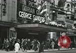 Image of London citizens at election time London England United Kingdom, 1950, second 49 stock footage video 65675023187