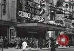 Image of London citizens at election time London England United Kingdom, 1950, second 50 stock footage video 65675023187