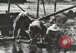 Image of Akita Oil Field Yabase Japan, 1947, second 57 stock footage video 65675023230
