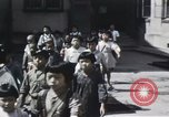 Image of Japanese school children Kyoto Japan, 1945, second 16 stock footage video 65675023245
