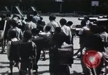 Image of Japanese school children Kyoto Japan, 1945, second 17 stock footage video 65675023245
