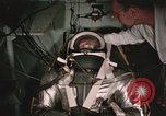 Image of Mercury suit evaluations United States USA, 1959, second 58 stock footage video 65675023275