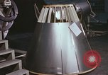 Image of Spacecraft assembly United States USA, 1960, second 22 stock footage video 65675023318