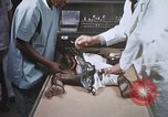 Image of Chimpanzee for spacecraft testing United States USA, 1960, second 57 stock footage video 65675023323