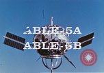 Image of Atlas Able 5A Cape Canaveral Florida USA, 1960, second 10 stock footage video 65675023337