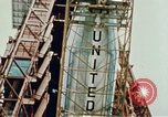 Image of Atlas Able 5A and 5B Cape Canaveral Florida USA, 1960, second 59 stock footage video 65675023339