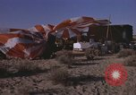 Image of Astronauts survival training Nevada United States USA, 1960, second 4 stock footage video 65675023343