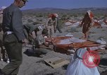 Image of Astronauts survival training Nevada United States USA, 1960, second 25 stock footage video 65675023343