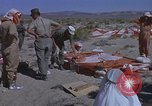 Image of Astronauts survival training Nevada United States USA, 1960, second 32 stock footage video 65675023343