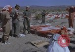 Image of Astronauts survival training Nevada United States USA, 1960, second 37 stock footage video 65675023343