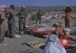 Image of Astronauts survival training Nevada United States USA, 1960, second 39 stock footage video 65675023343