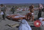 Image of Astronauts survival training Nevada United States USA, 1960, second 45 stock footage video 65675023343