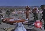 Image of Astronauts survival training Nevada United States USA, 1960, second 48 stock footage video 65675023343
