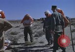 Image of Astronauts survival training Nevada United States USA, 1960, second 57 stock footage video 65675023343