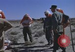 Image of Astronauts survival training Nevada United States USA, 1960, second 58 stock footage video 65675023343