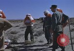 Image of Astronauts survival training Nevada United States USA, 1960, second 59 stock footage video 65675023343