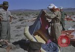 Image of Astronauts survival training Nevada United States USA, 1960, second 62 stock footage video 65675023343