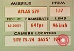 Image of Missile Atlas 57F United States USA, 1962, second 1 stock footage video 65675023369